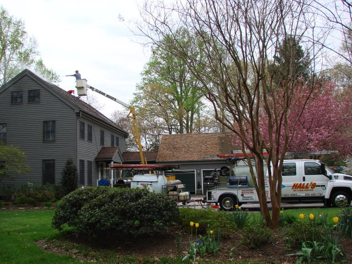 roof cleaning milford DE